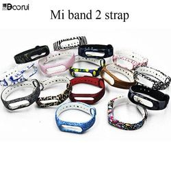 Colorful Mi Band 2 strap Silicone Environmental  healthy miband 2 wrist strap mi 2 Wearable Smart band replacement Accessories