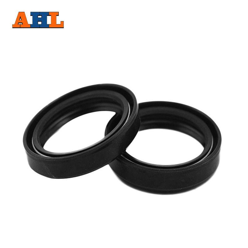 AHL Motorcycle Front Fork Damper oil seal for SUZUKI DJEBEL 250 RMX250 DR250 DR350 90-99 Shock absorber