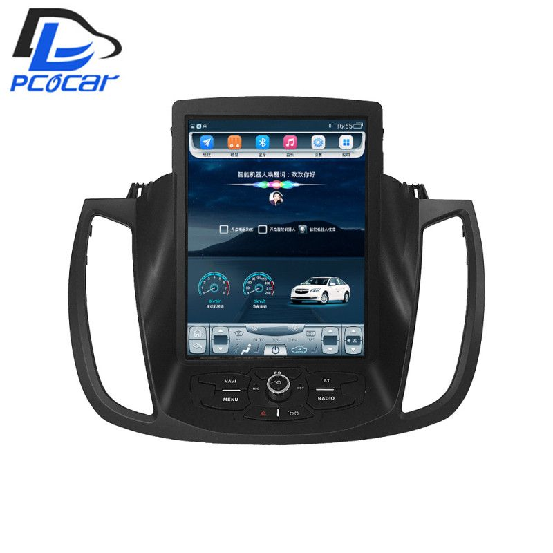 32G ROM Vertical screen android car gps multimedia video radio player in dash for ford kuga 2013-2016 years car navigaton