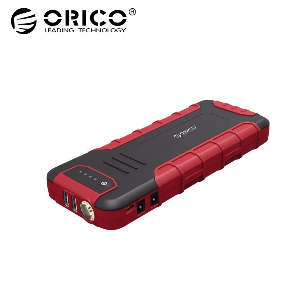 ORICO Multi-funktion Mini Auto Starthilfe Booster Power Bank 18000 mah QC3.0 Batterie Ladegerät Für 12 v 10A 19 v 3.5A
