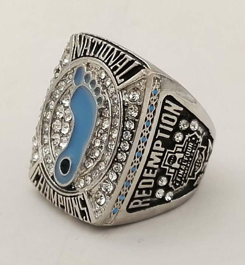 Wholesale Good Quality 2017 NCAA north Carolina Tar Heels basketball championship ring