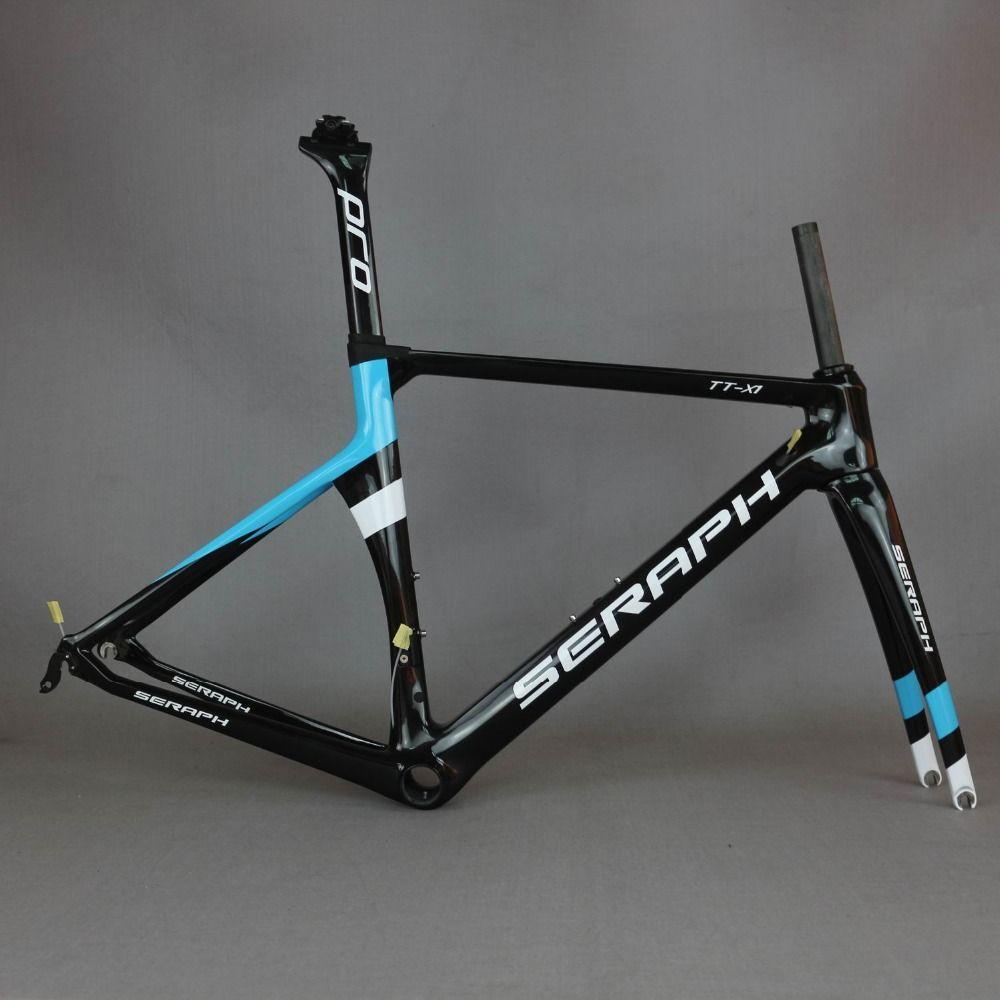 SERAPH malerei carbon fahrrad rahmen Nach malerei OEM produkte road carbon rahmen TT-X1 rahmen, TanTan unternehmen. Fabrik verkauf