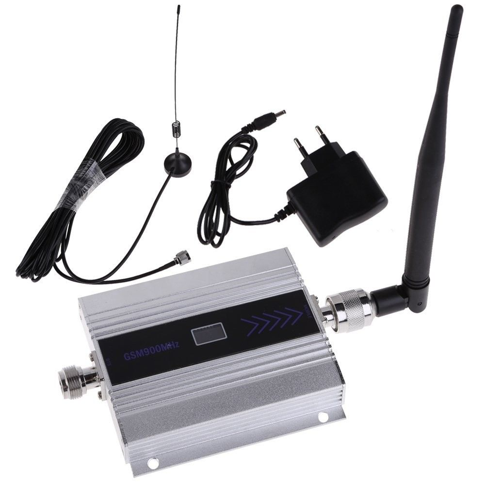 LCD Display! gsm repeater 900 mhz gsm 900 signal booster, handy signal booster repeater verstärker + saugnapf-antenne