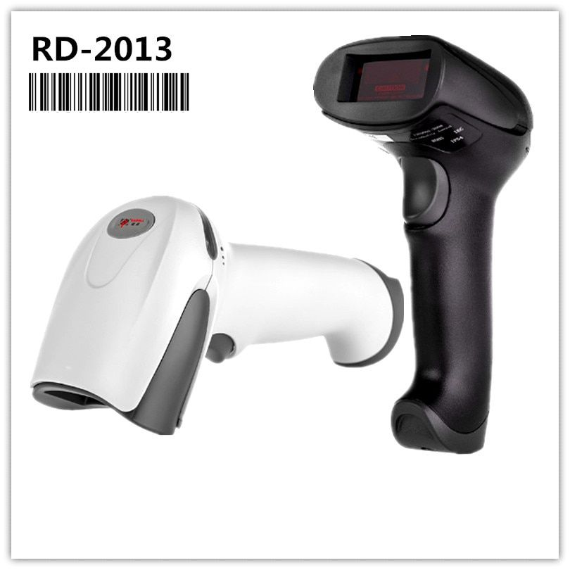 RD-2013 Low Price Barcode Scanner Reader Portable USB Wired 1D Cable Laser Bar Code Scanning for POS System Supermarket
