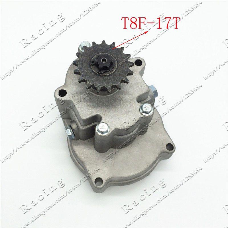 T8F 11T 14T 17T 20T Tooth Clutch Drum Gear Box Sprocket 33cc 43cc 49cc Ty Rod II Go Kart Mini Moto Dirt Bike Scooter Xtreme