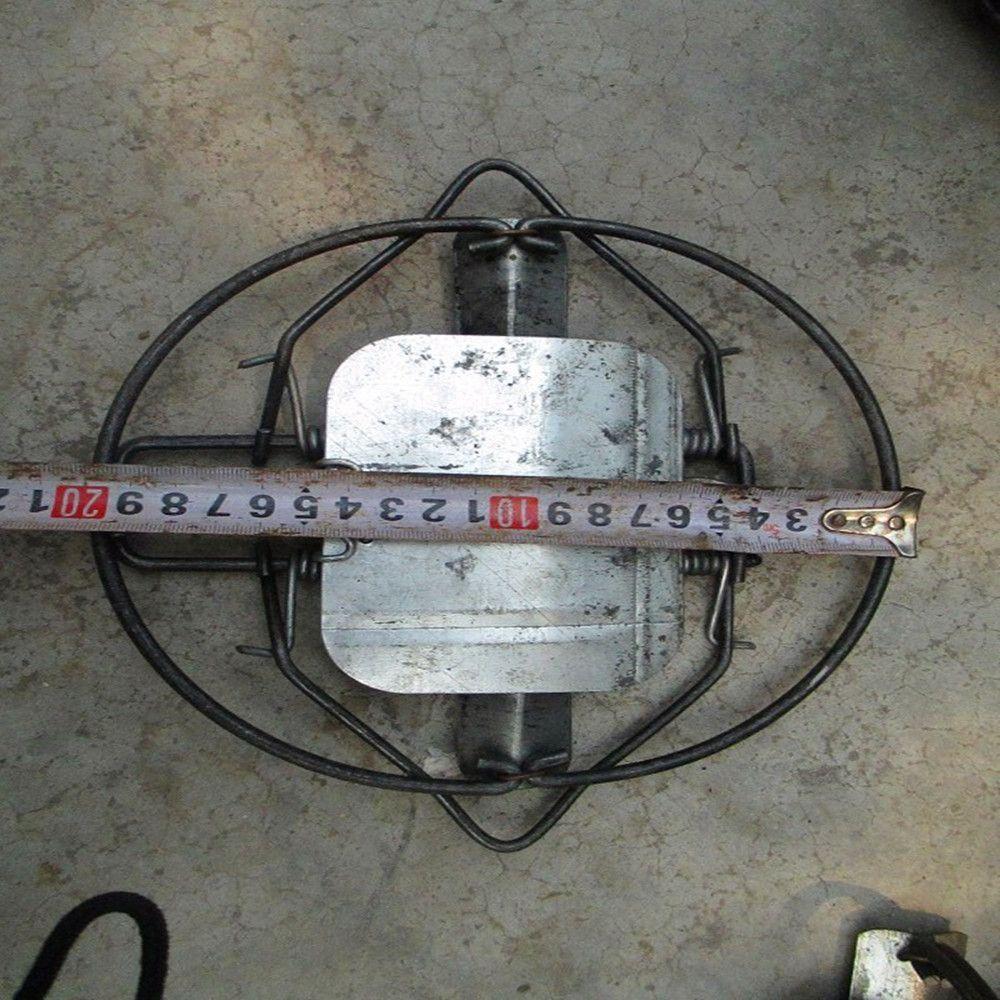 Diamètre 200 MM 7.3 pouce Animal sanglier lapin campagnol renard Coyote rat musqué Fisher vison acier piège à ressort