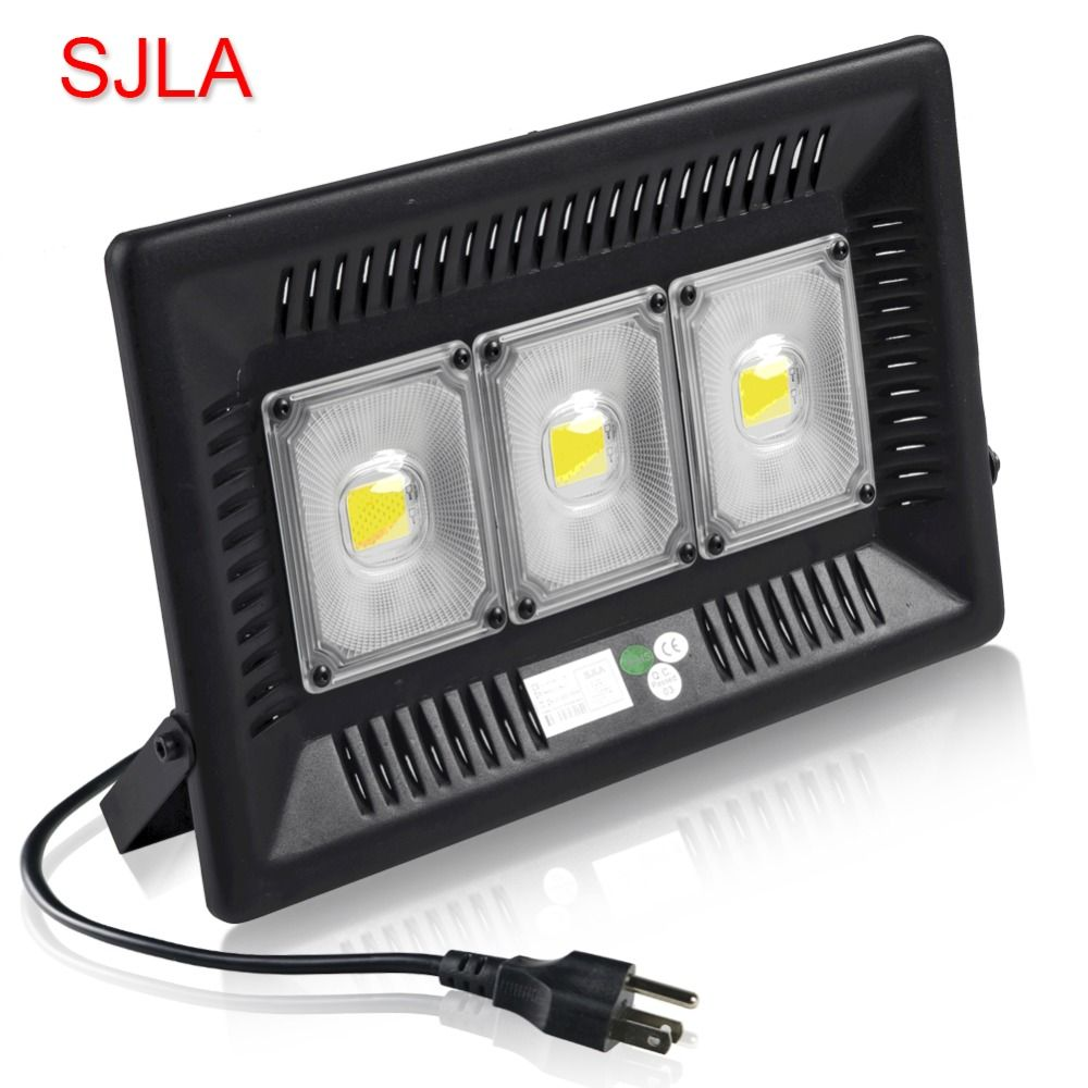 SJLA Warranty 5Year Waterproof IP67 Indoor Outdoor Wall Garden Spot Refletor Exterior Foco Lamp 50W 100W Plug Led Flood Light