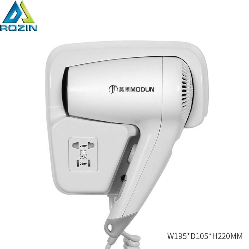 Electric hair dryer Wall Mount bathroom shelf Hotel home hair dryer dry skin hanging wall hanging hair dryer for 220v