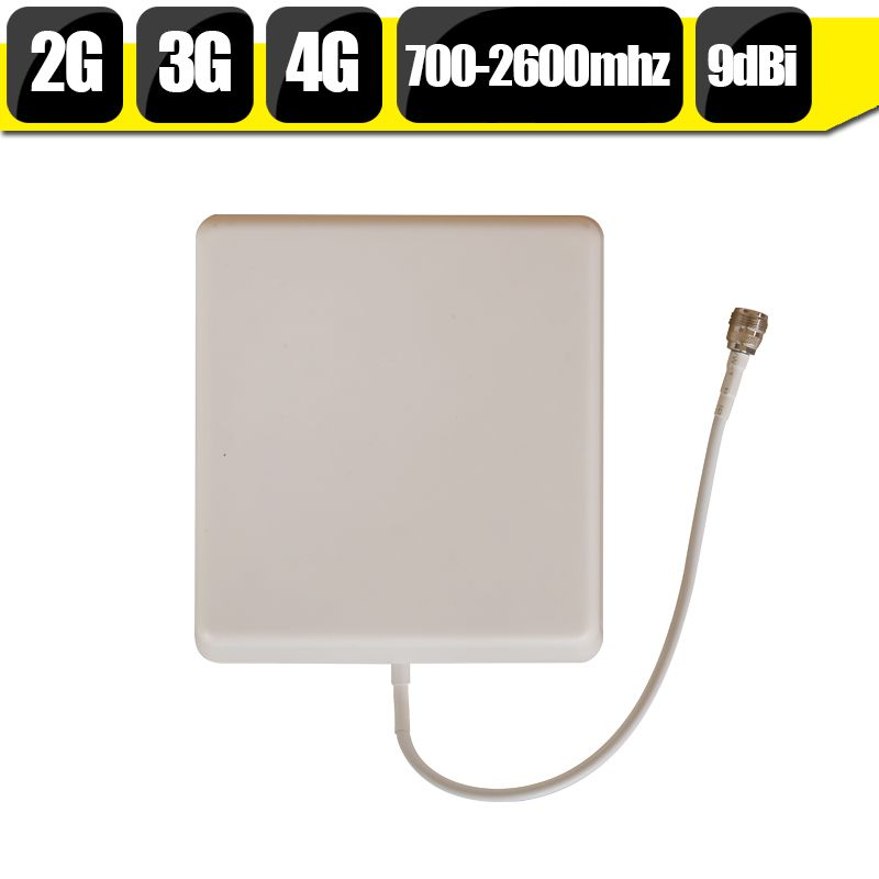700 mhz-2700 hz GSM 2G 3G 4G LTE Handy Antenne N typ 9dBi Gewinn Indoor Panel Interne Handy Antenne Für Signal Booster