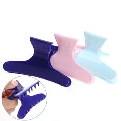 3 pcs/pack Coloré Papillon Titulaire Cheveux Griffe Section Styling Outils Cheveux Pinces Clips Griffe Tenir les Cheveux Styling Outil De Coiffure