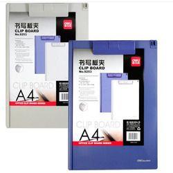 Alat Tulis GAMBAR Papan Klip Folder Clipboard A4 Huruf Ukuran Ramping Clipboard Kotak Penyimpanan Profil Rendah Klip Clipboard untuk Kelas
