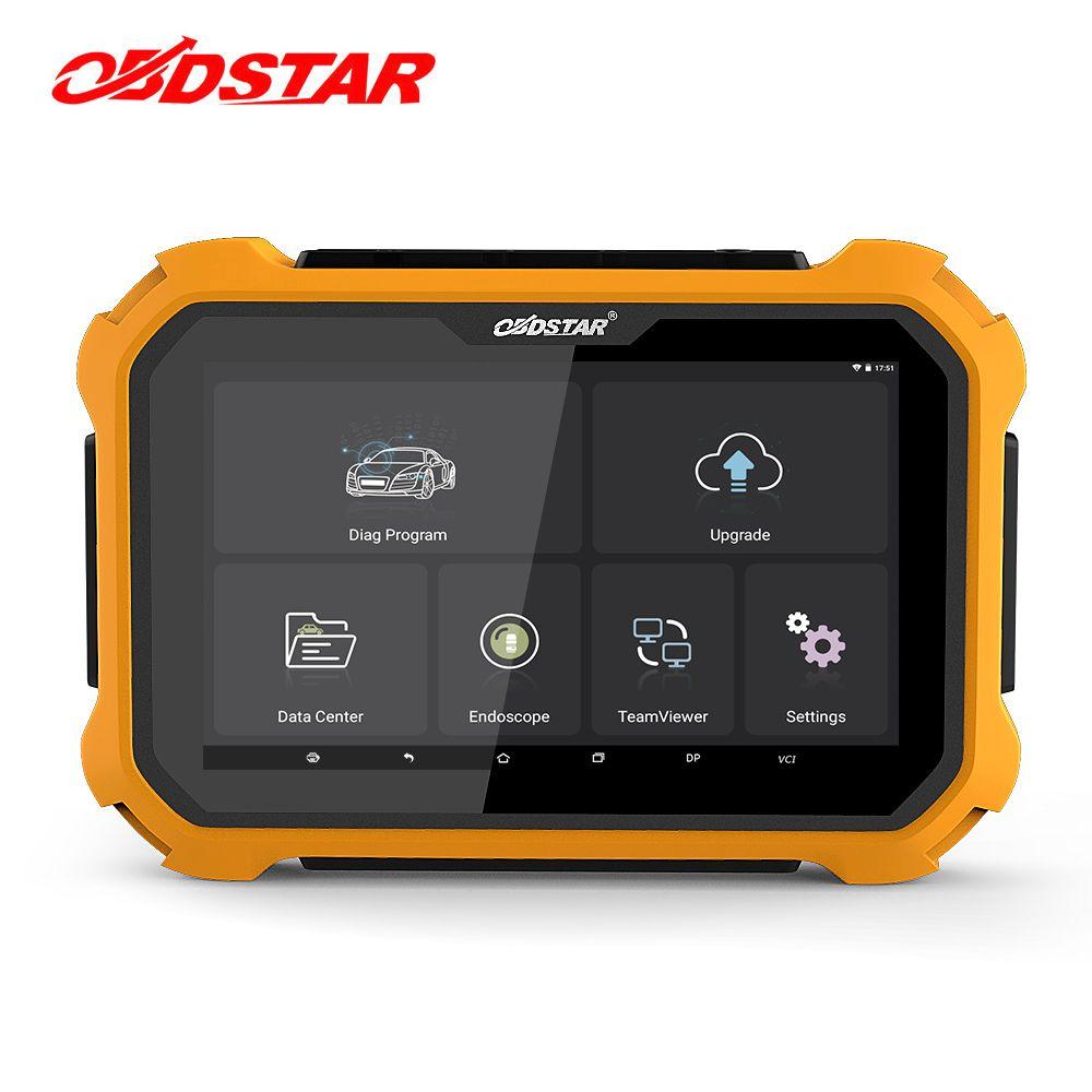 OBDSTAR X300 DP Plus Auto Key Programmer Pin Code OBD2 Diagnostic Tool EEPROM/PIC Adapter Immobilizer Odometer Adjustment Tool