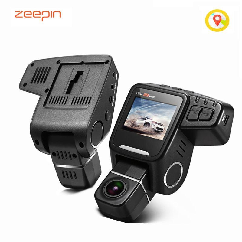 ZEEPIN T682 Hidden Car DVR Camera Novatek 96650 Dash Cam FHD 1080P Rotation Lens WDR GPS Loop Record Car Driving Video Recorder