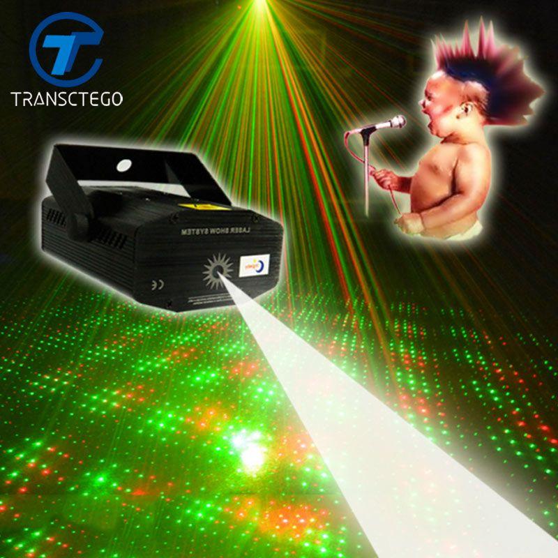 Mini lampe de scène acoustique portative de contrôle de son de Laser de lampe LED Disco pour l'étape de barre KTV lumières de Laser de nuit de Disco de ciel étoilé