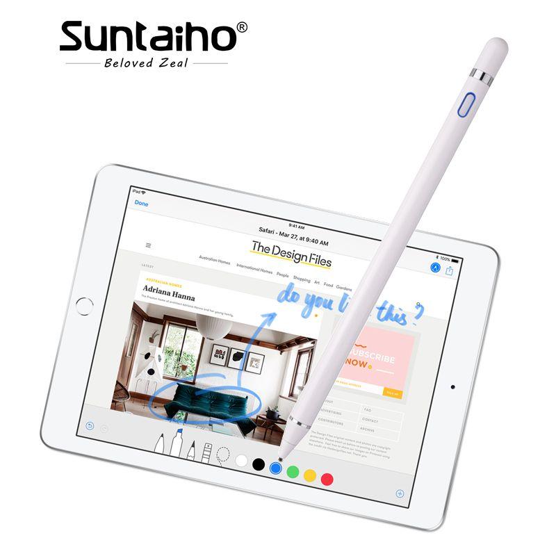 Für apple Bleistift, Suntaiho neue stylus kapazität touch Bleistift für apple ipad Für iPhone XS MAX mit einzelhandel Verpackung