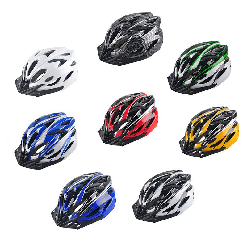 Mountain Bike Helmet Men Women Back Light Road Cycling Integrally Molded Safety In-mold Helmets Ultralight Cyclings <font><b>Protective</b></font>
