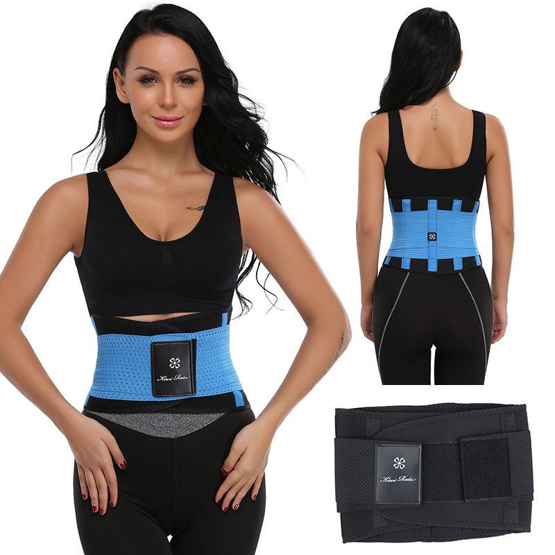 Men Women Xtreme Power Belt Hot Slimming Thermo Body Shaper Waist Trainer Waist Support <font><b>Fitness</b></font> Tummy Control Trimmer Shapewear