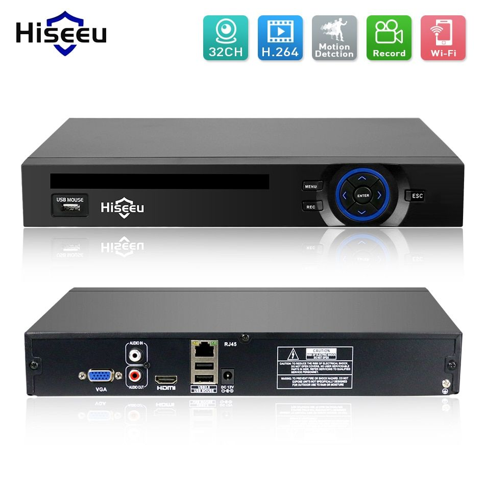 2HDD 24CH 32CH CCTV NVR <font><b>720P</b></font> 960P 1080P 3M 5M DVR Network Video Recorder H.264 Onvif 2.0 for IP Camera 2 SATA XMEYE P2P Cloud