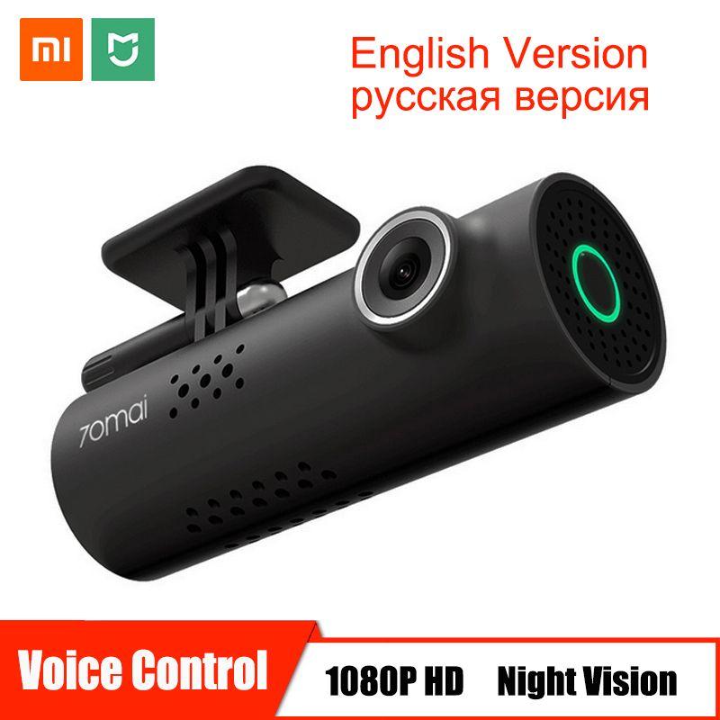 Voice Control Xiaomi 70mai Car DVR Camera Full HD 1080P Dash Cam Car Camera Wifi Night Vision 130 Wide Angle Video Recorder