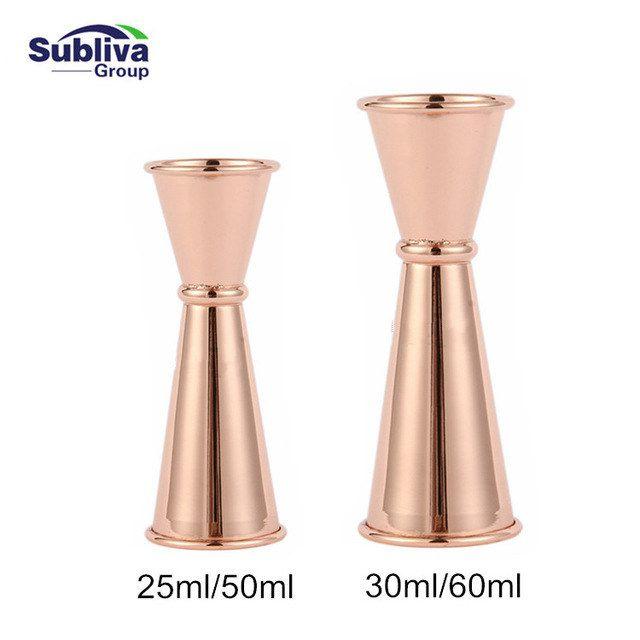 Outil de barre en acier inoxydable 304 à Double bande en acier inoxydable 30/60 ml