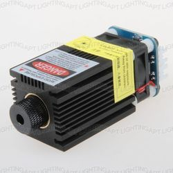Мощный 2,3 МВт/2300 Вт 450нм фокусируемая Регулировка лазерной головки модуль диодный лазерный гравировальный станок ttl PWM DIY ЧПУ бесплатные очки