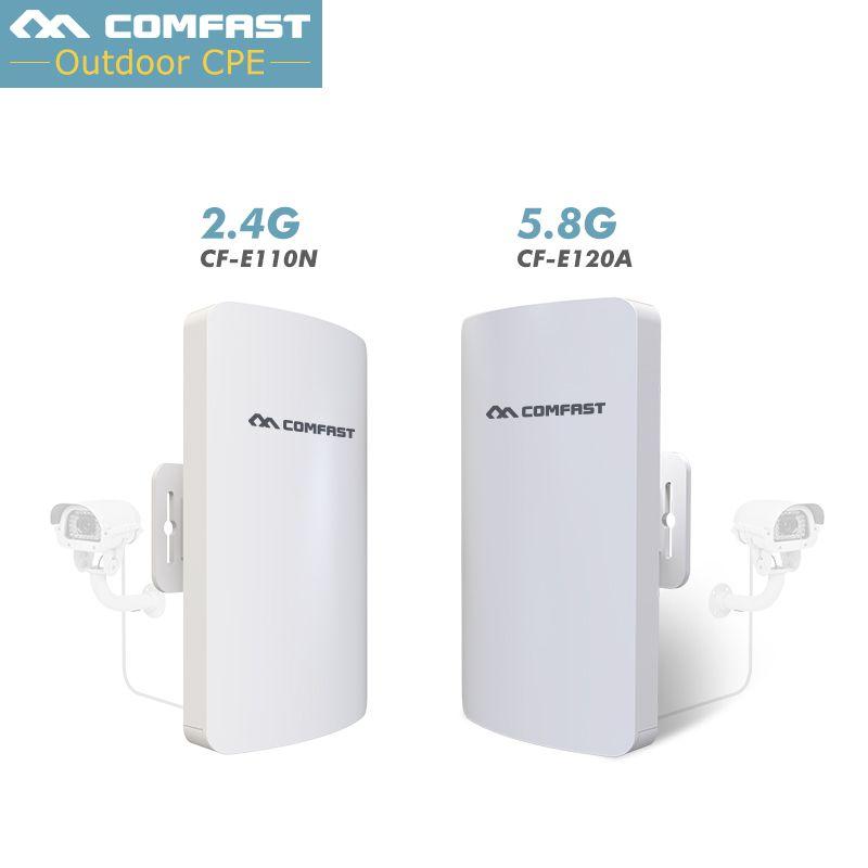 1-3Km longue portée WIFI extérieur CPE WIFI routeur 2.4 Ghz, 5 Ghz 300 Mbps routeur sans fil WIFI extérieur CPE pont répéteur Point d'accès