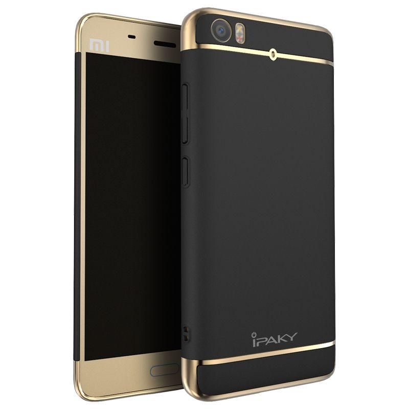 For Xiaomi Mi 5 iPaky brand 3in1 design Fashion Plating Matte Back Cover case For Xiaomi Mi5 quality case