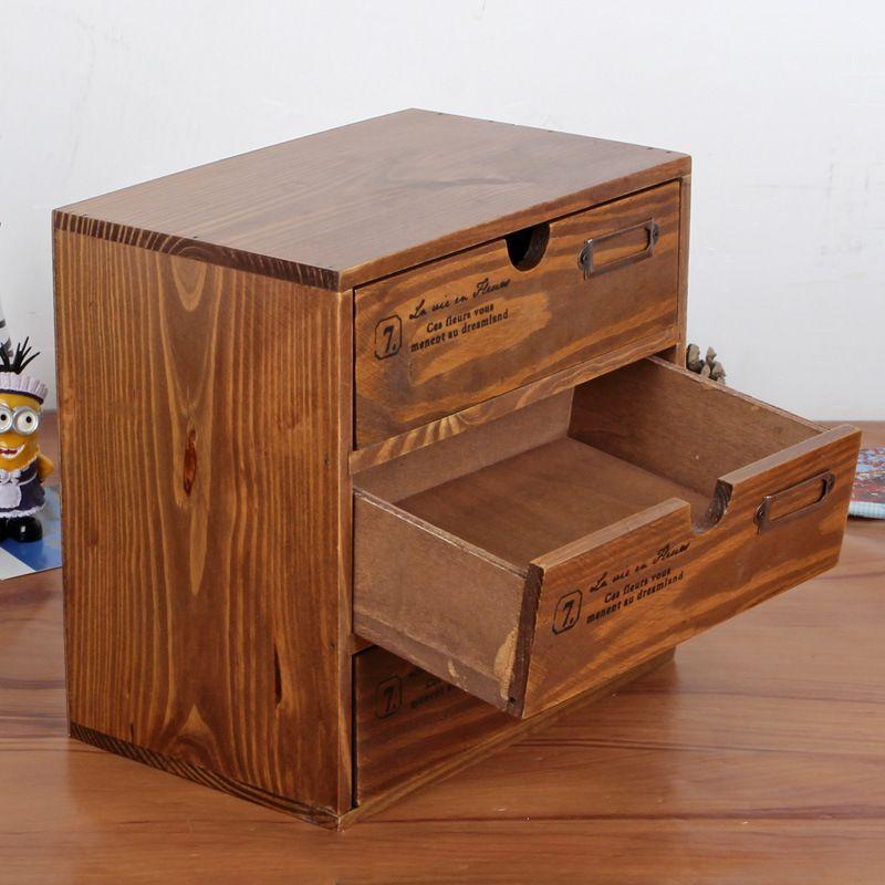 Three Layers Europe Style Classics Storage Box Mini Cabinet Jewelry Cosmetic Holder Organizers Hot Selling