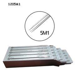 50 Pcs Disposable Sterilize Campuran Aneka Tato Needle 5/7/9/11/13 Magnum Campur Ukuran tunggal Stack Magnum Permanent Riasan Jarum