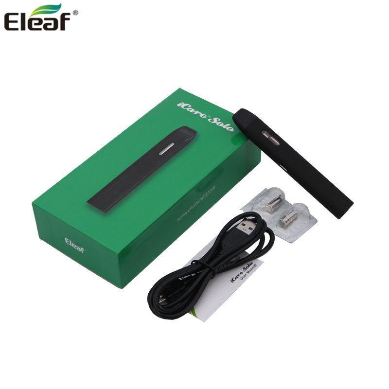 100% D'origine Eleaf iCare Solo Kit Tout-en-Un Starter Kit avec 1.1 ml réservoir et 320 mah capacité batterie