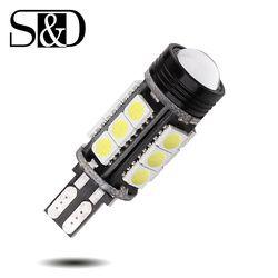 T15 Canbus Sans Erreur COB Ampoules Cree Chip Émetteur LED 921 912 W16W LED lampes De Voiture Externe Lumières 5050 SMD 12 V Xenon Blanc D025
