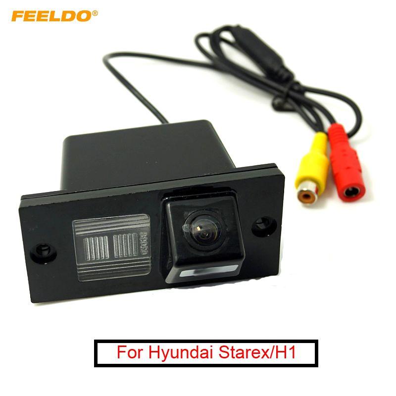 FEELDO 1 Set Promotion vente!!! Caméra de voiture spéciale étanche pour Hyundai Starex/H1/H-1/i800/H300/H100