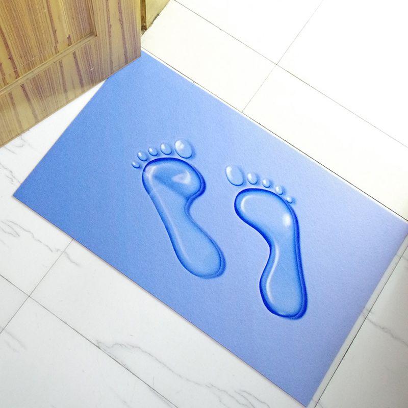 3D 40x60cm 3mm Ultra-thincreative decorative carpet non-slip mat/carpet/bedroom mat/kitchen bathroom absorbent/Desk mats