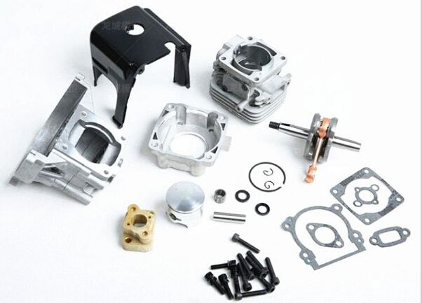 32cc Big Bore UPGRADE KIT 38mm fit 26cc 29cc 30.5CC Zenoah for 1/5 hpi rovan km baja Losi 5T FG rc car parts