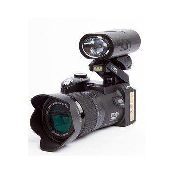 2018 HD JOZQA POLO D7200 Digital Camera 33Million Pixel Auto Focus Professional SLR Video Camera 24X Optical Zoom Three Lens