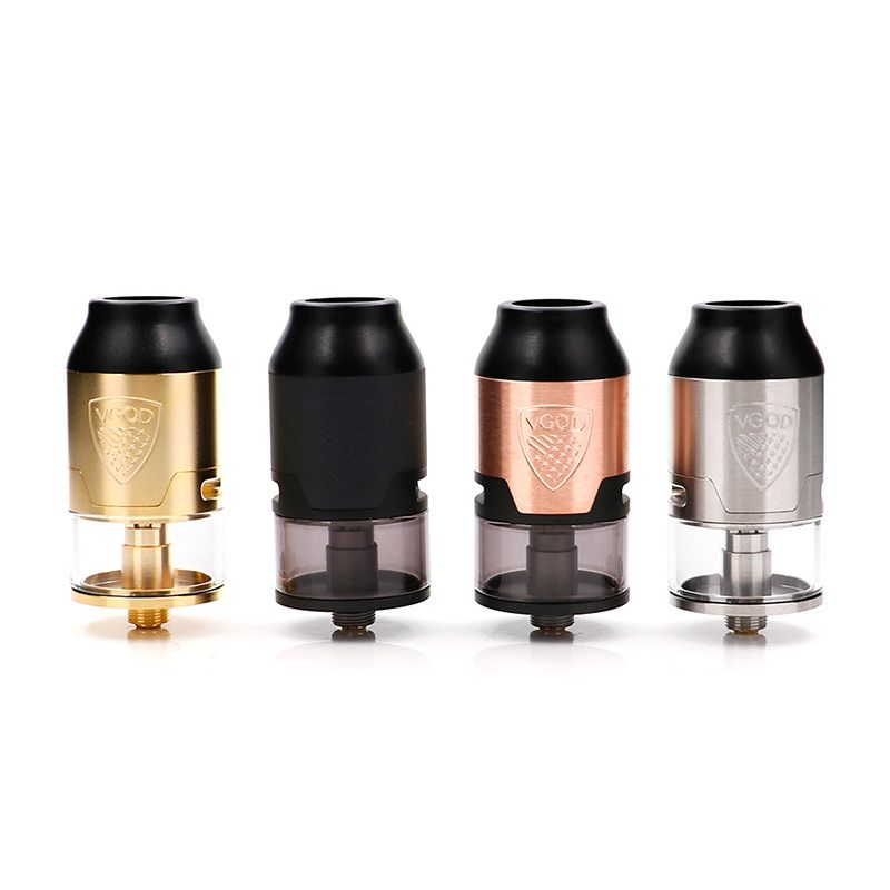 original VGOD Elite RDTA tank 24mm Rebuildable Dripping Atomizer for elite pro mech mod VS TRICKTANK PRO R2 RDTA made in USA