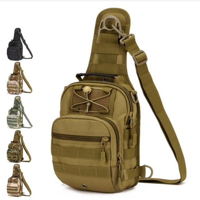 Hommes de sacs tactiques poitrine package tour une épaule sac à dos avec la haute qualité sacs à la mode loisirs femmes sac à dos