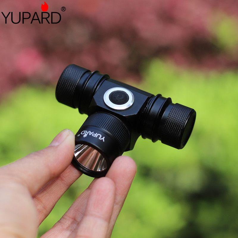 YUPARD étanche XM-L2 phare LED phare 2 Mode étanche T6 haute puissance pour Camping chasse rechargeable 18650 batterie