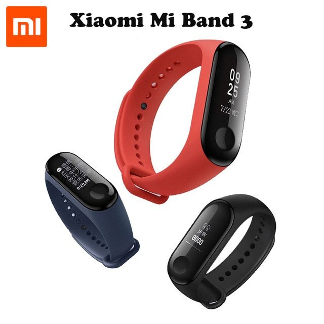 Original xiaomi mijia MI band 3 smart remote control And with New Oled screen For xiaomi mi home app smart home kit