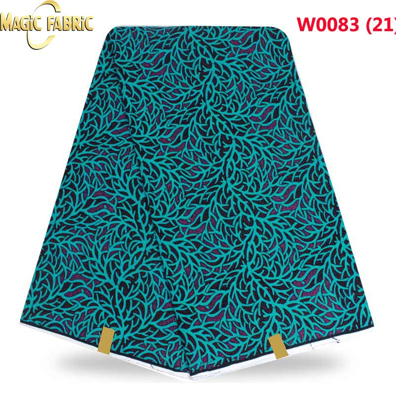 new 100% cotton super wax hollandais african hollandais real dutch wax veritable wax hollandais for nigerian dress W0083-21