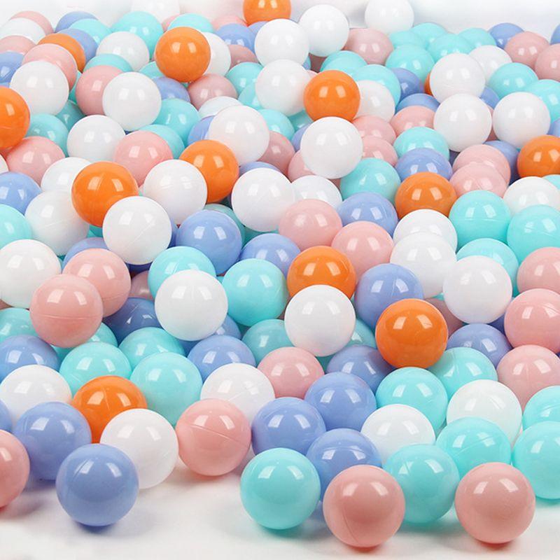 7cm Plastic Pit Balls - 50pcs Safe Eco-friendly Children Play Pool Ball Toy, Longer Lasting for Infant Baby Toddler Kids Age