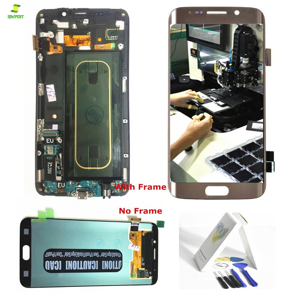 S6 Edge Plus Screen For Samsung Galaxy S6 Edge Plus G928 G928F LCD Display Touch Screen Digitizer Complete Assembly 5.7