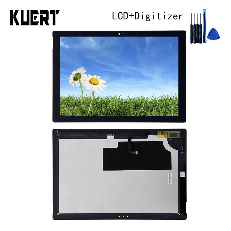 Panel LCD Combo Touchscreen Digitizer Glass Lcd-anzeige Für Microsoft Surface Pro 3 1631 Zubehör Teile Kostenlose Tools