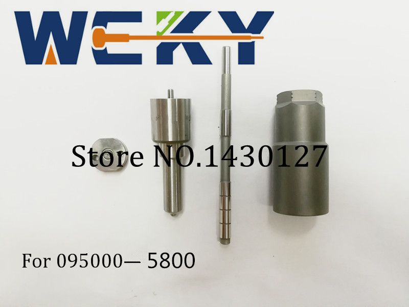 Top Quality! Repair Kit CR Kit (Nozzle DLLA153P884 +Orifice plate+Control rod+ Nut) For Injector 095000-5800 6C1Q-9K546-AC