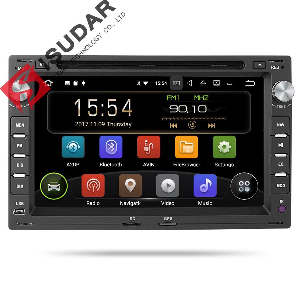 Isudar 2 Din Auto Radio Gps Android 8.1 Für VW/Volkswagen/GOLF/POLO/TRANSPORTER/Passat b5 auto Multimedia DVD Player Automotivo FM