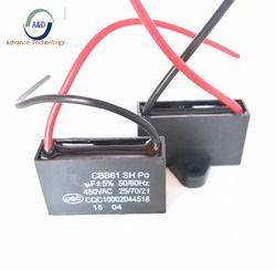 1 pcs seulement bonne qualité CBB61 450 v 1 uf 1.2 uf 1.5 uf 1.8 uf 2 uf 2.5 uf 3 uf 3.5 uf 4 uf 4.5 uf condensateur de démarrage pour AC Ventilateur 450 v CBB61