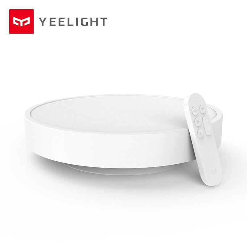 D'origine Yeelight Plafonnier Lampe IP60 Antipoussière WIFI Et Bluetooth Double Sans Fil Intelligent Mi Maison APP Télécommande