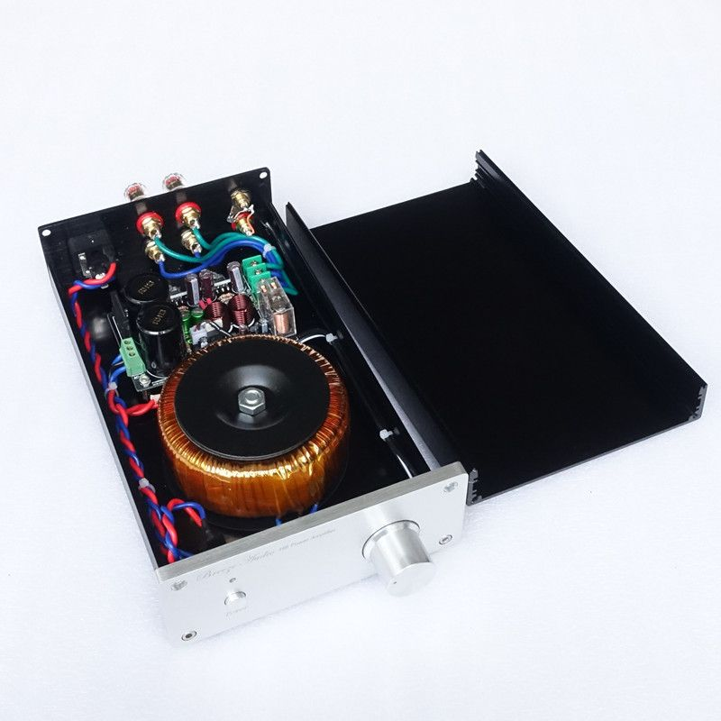 Breeze Audio&weiliang audio Custom Classic Black Gold Commemorative Edition LM1875 finished amplifier