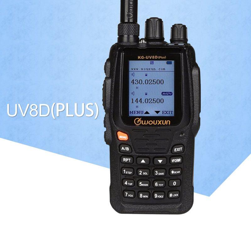 It applies to Walkie Talkie Wouxun KG-UV8D Plus Dual Band VHF & UHF two way radio Dual Display Duplex (KG-UV8D Upgrade Version)