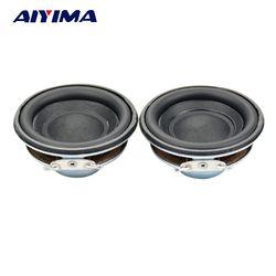 Aiyima 2pcs 50 mm Speaker 4 ohm 5 w Subwoofer multimedia loudspeaker